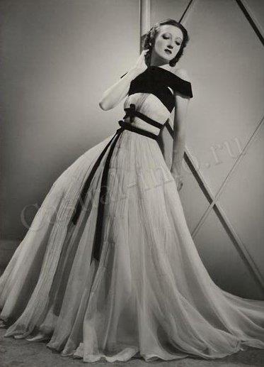 Мимолётные заметки: Мода 30-х годов - новая элегантность