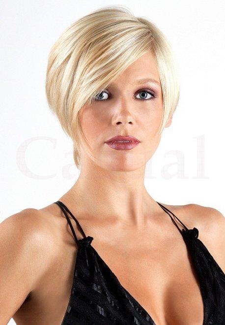 Короткие стрижки на редкие и тонкие волосы для круглого лица